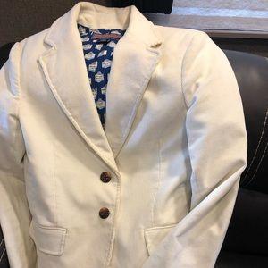 Vineyard Vines cream jacket